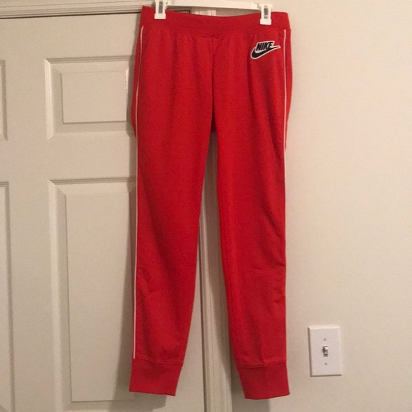 Nike Pants - Red Nike Sweatpants